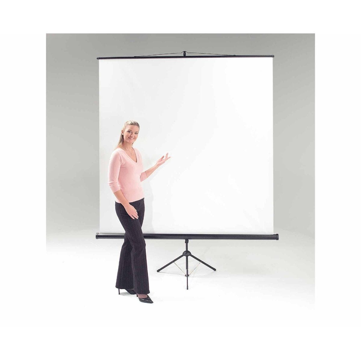 Metroplan Eyeline Tripod Projection Screen 1800 x 1800mm