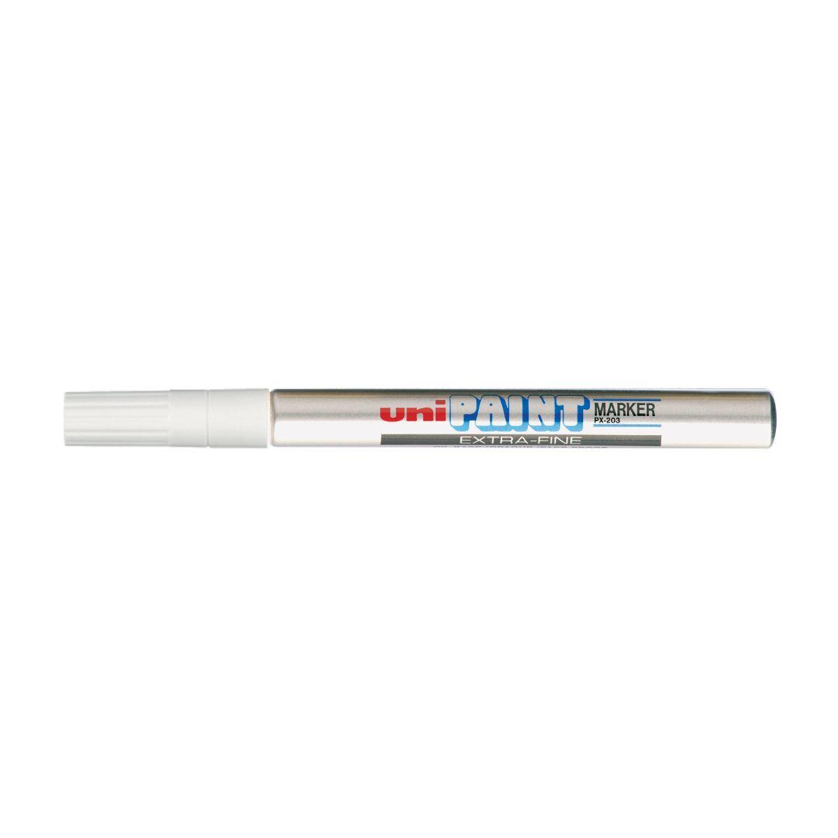 uni-ball Paint Marker Pen PX203 Extra Fine Silver