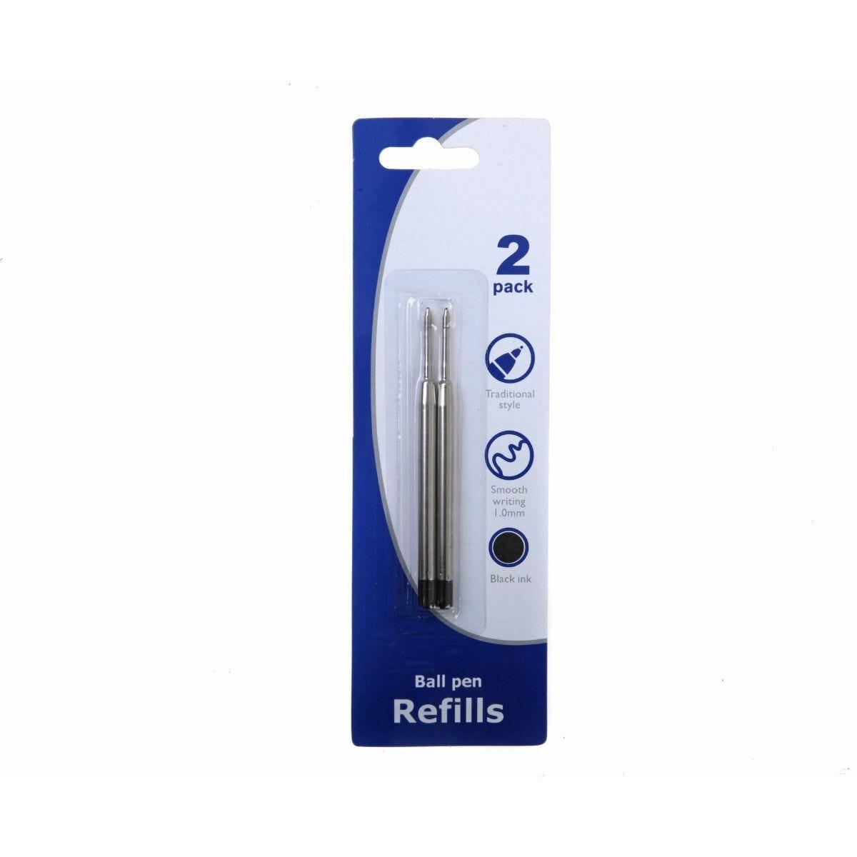 Ryman Refills Ballpen 1mm Pack of 2