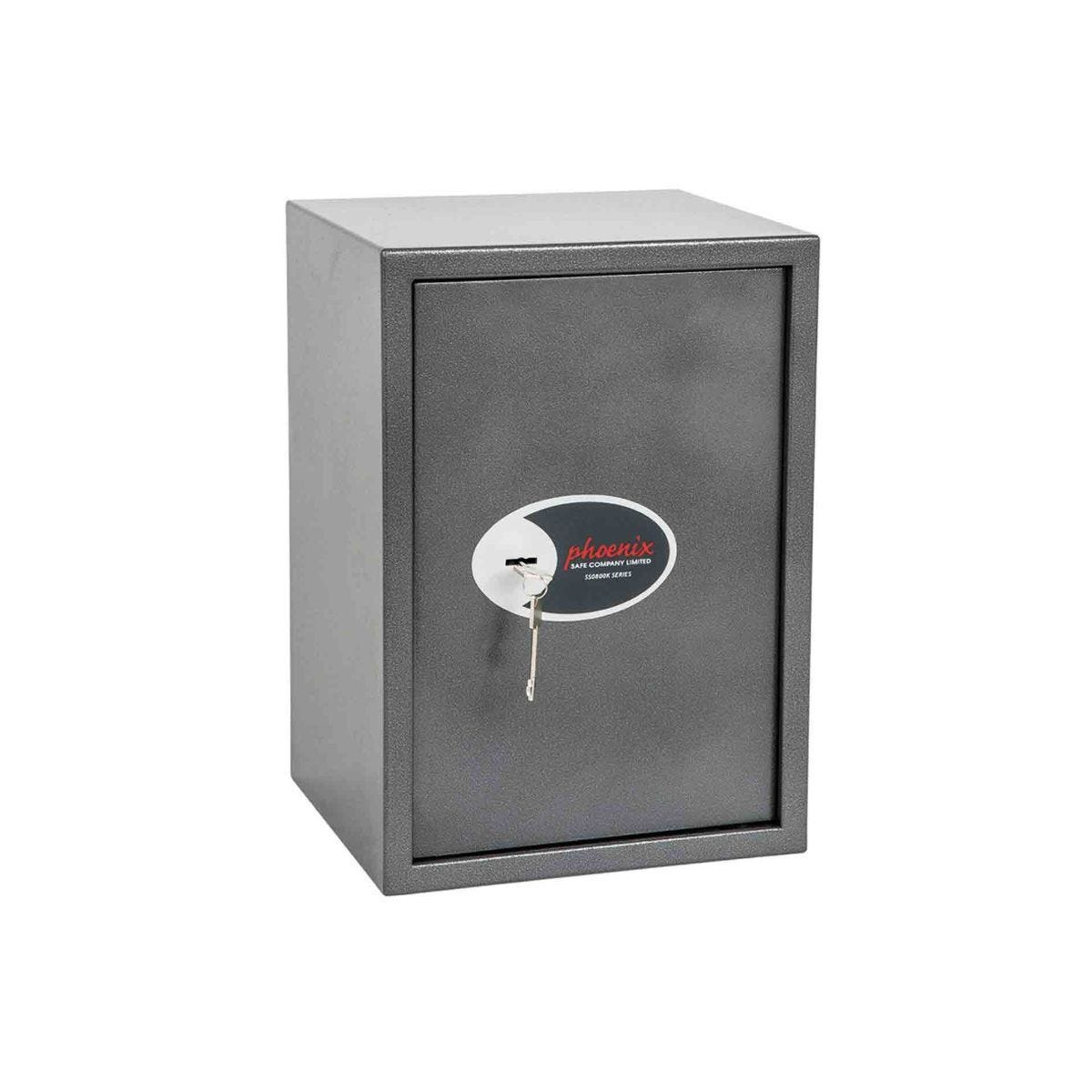 Phoenix Vela Home and Office Security Safe with Key Lock Size 4