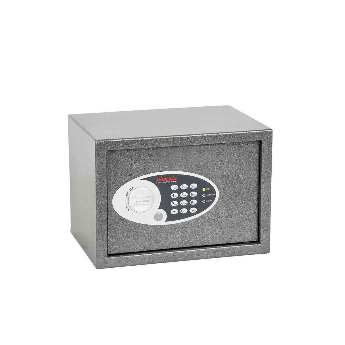 Phoenix Vela Home and Office Security Safe with Electronic Lock Size 2