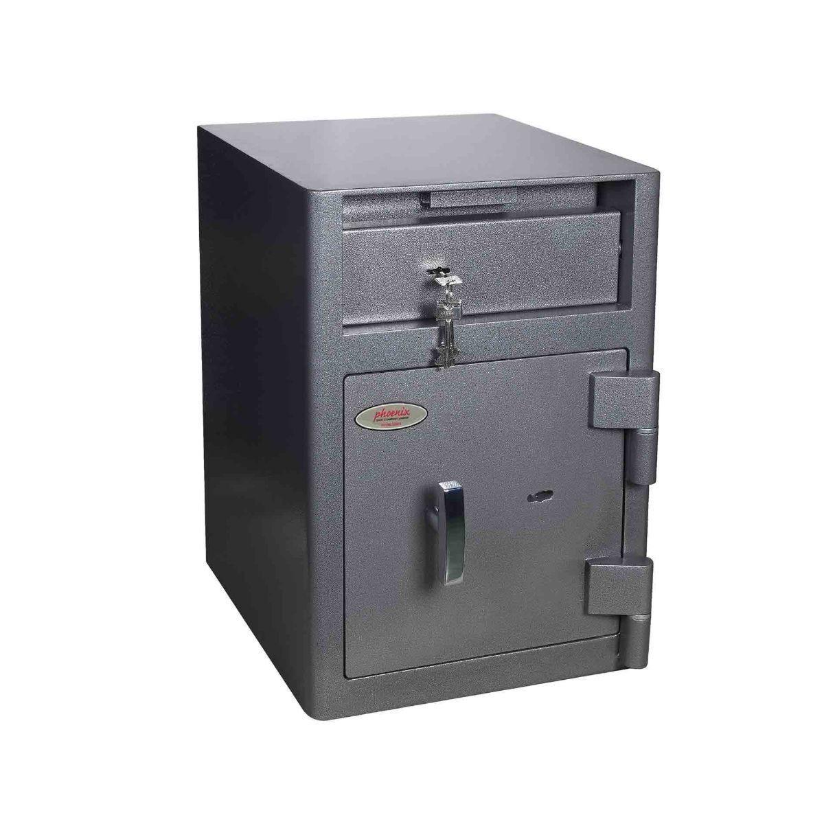 Phoenix Cash Deposit Security Safe with Key Lock Size 1