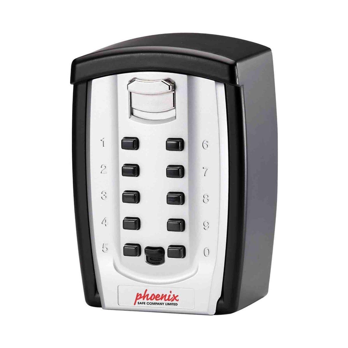 Phoenix Key Store KS0003C Key Safe with Combination Lock & Weatherproof Cover Size 3