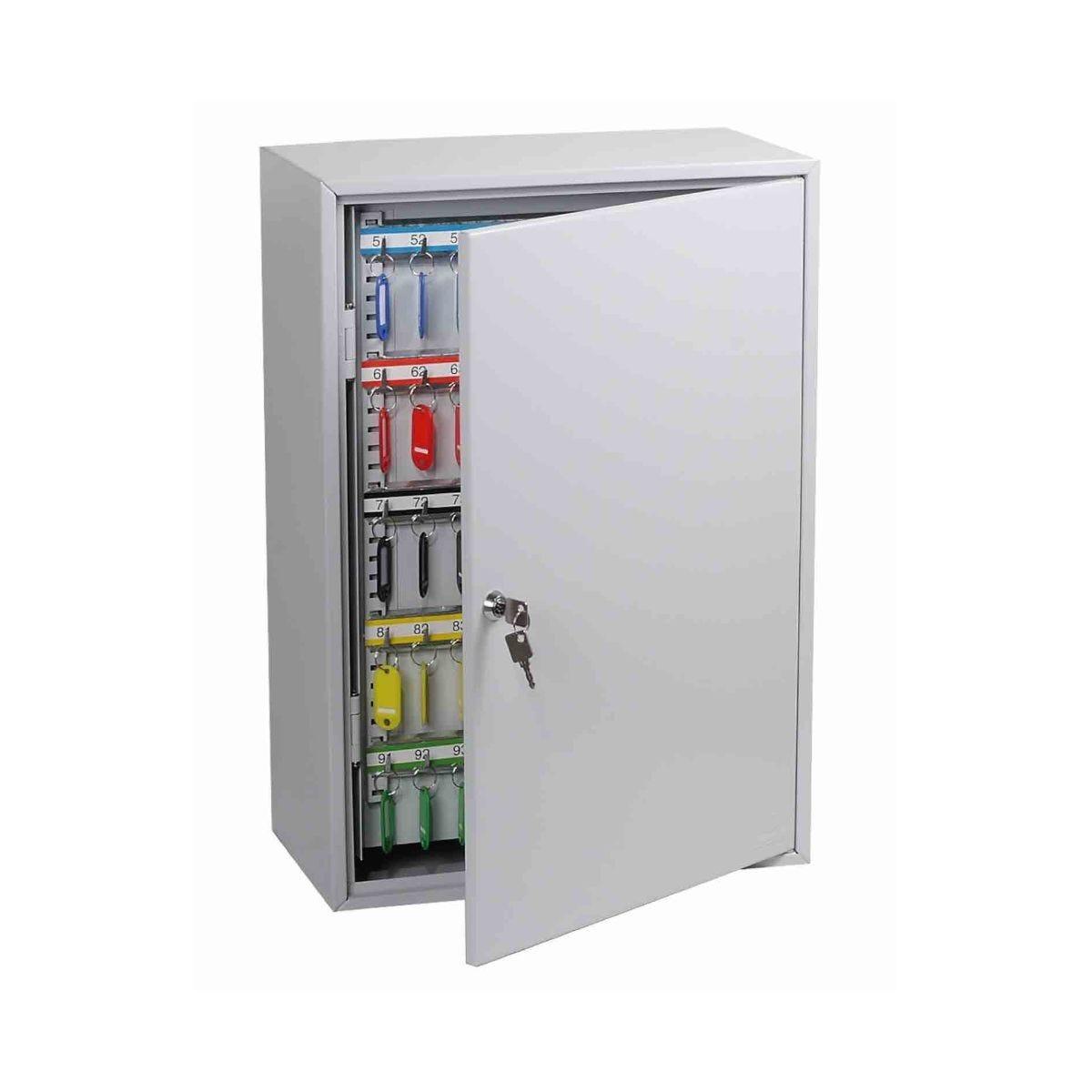Phoenix KC0605K Commercial Key Cabinet with Key Lock 300 Hook