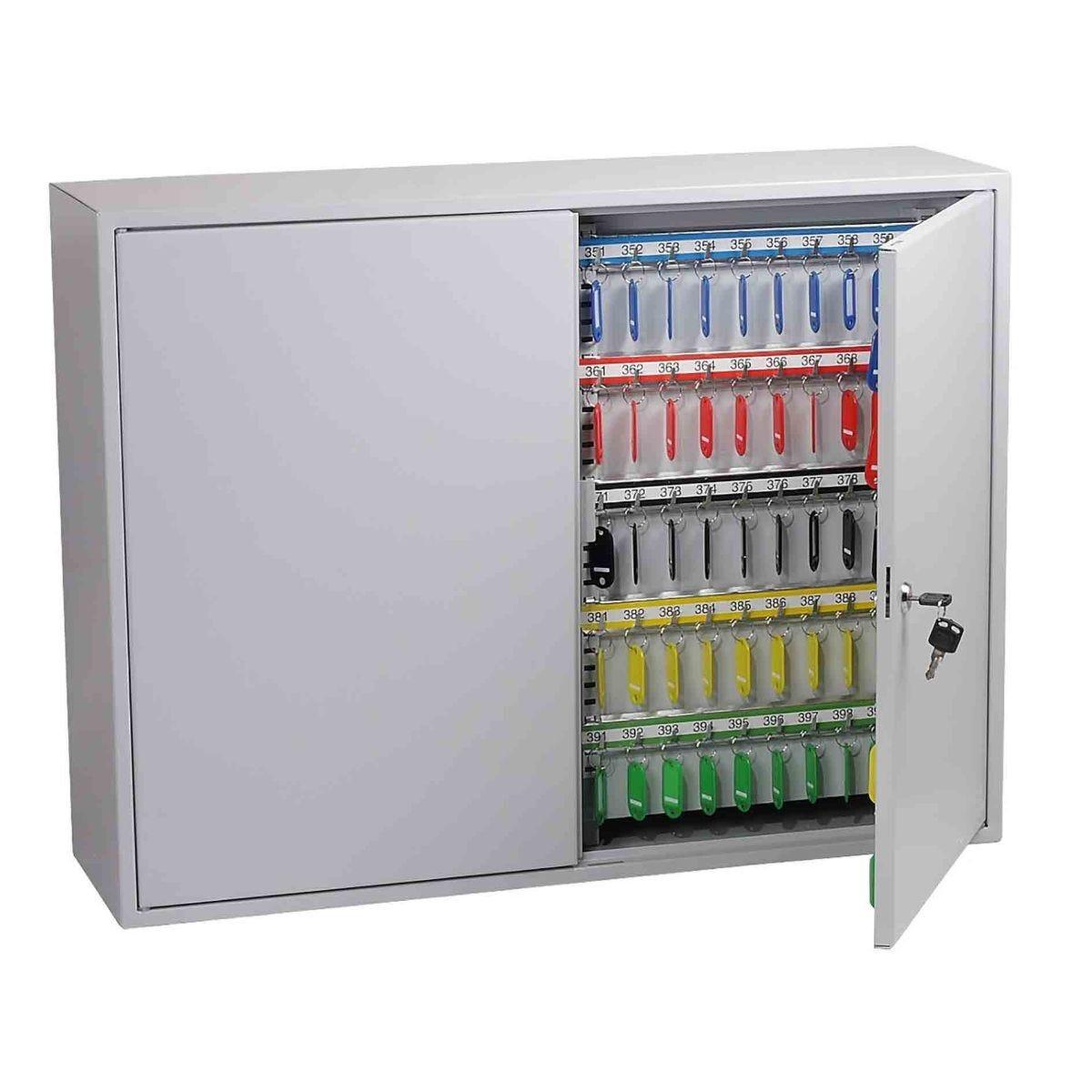 Phoenix KC0606K Commercial Key Cabinet with Key Lock 400 Hook