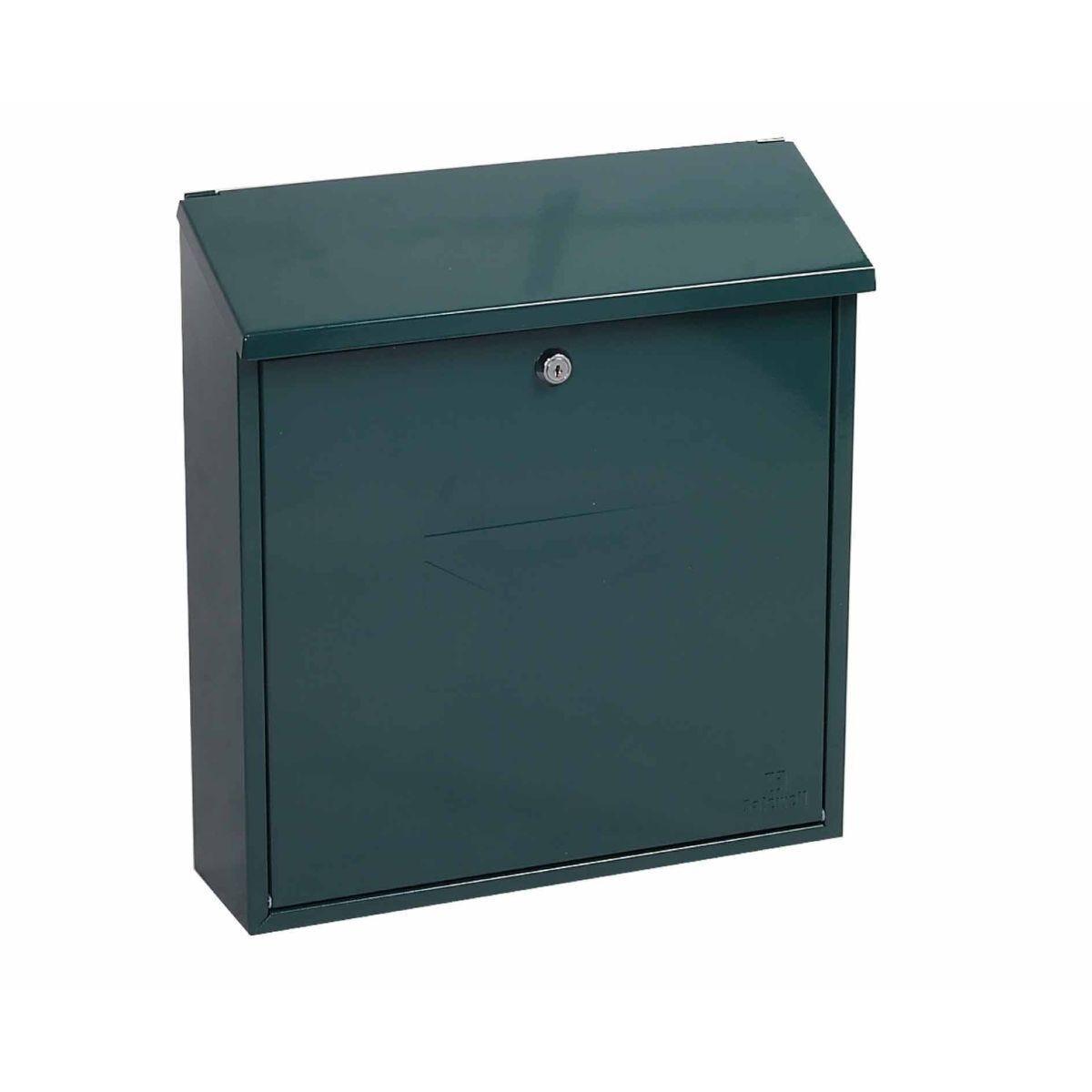 Phoenix Casa MB0111KB Top Loading Mailbox with Key Lock Green
