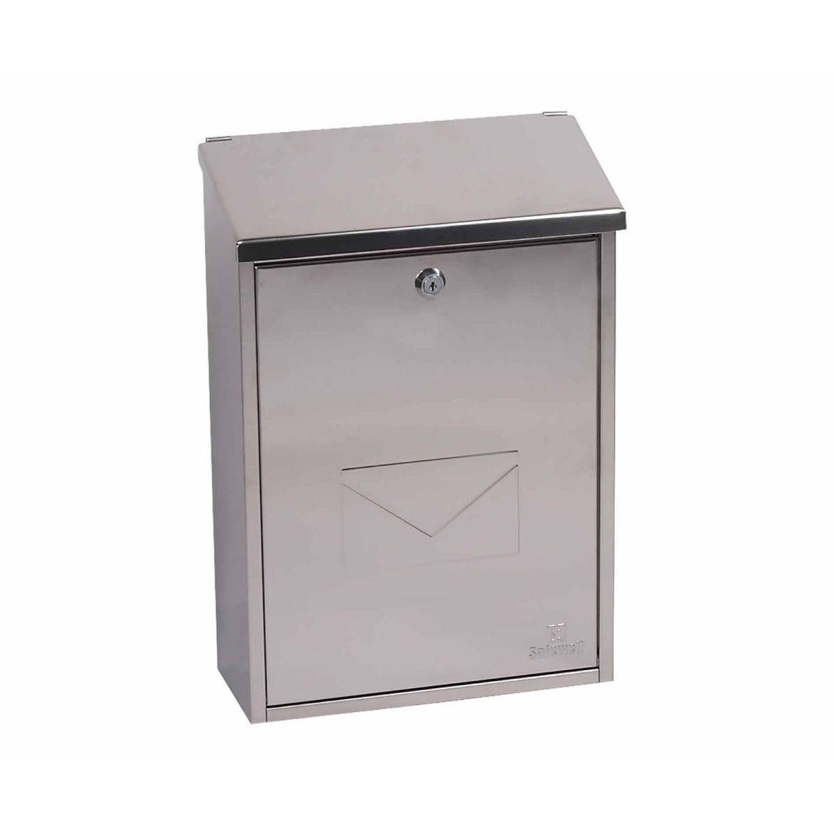 Phoenix Casa MB0111KS Top Loading Mailbox Stainless Steel