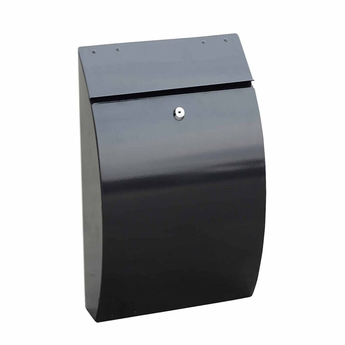 Phoenix Curvo Top Loading Mailbox with Key Lock