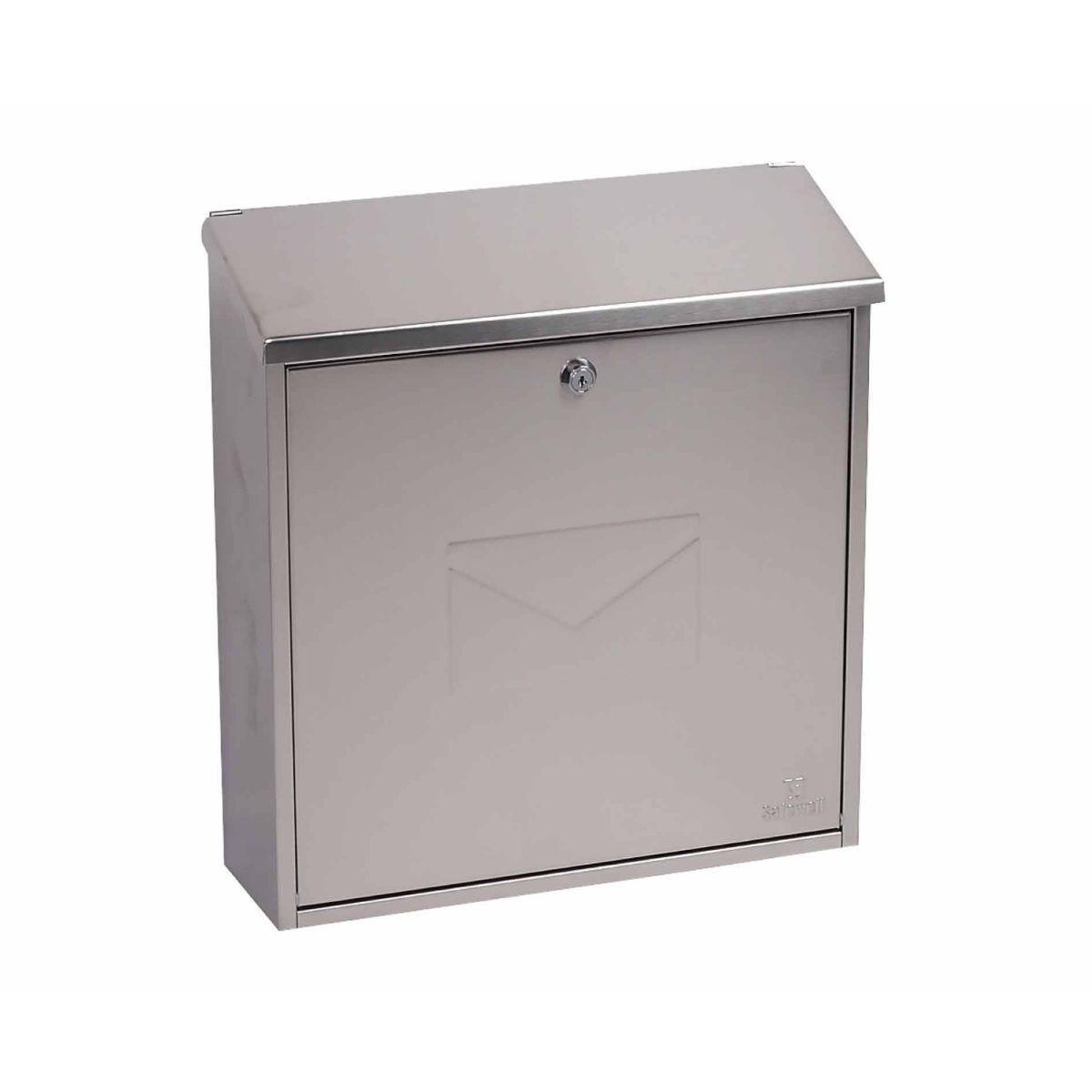 Phoenix Correo MB0118KS Top Loading Mailbox Stainless Steel