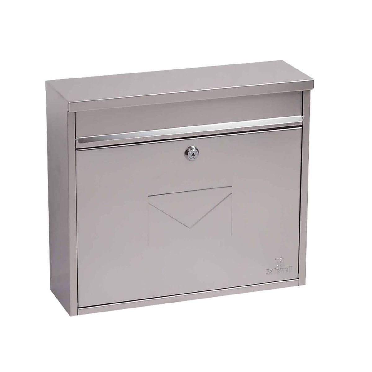 Phoenix Villa MB0114KS Front Loading Mailbox Stainless Steel