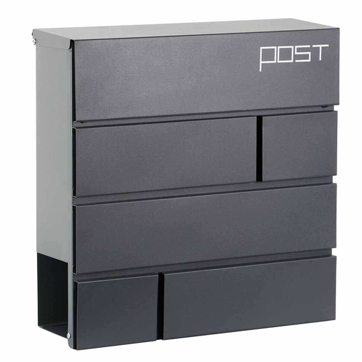 Phoenix Estilo MB0121KA Top Loading Letter Box with Key Lock
