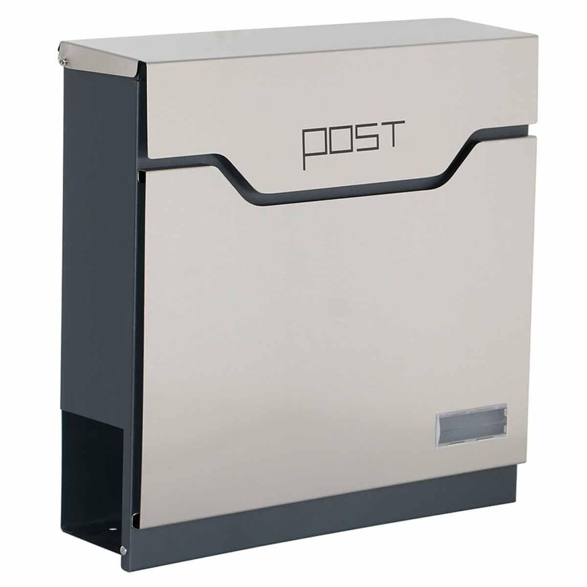 Phoenix Estilo MB0123KS Top Loading Letter Box with Key Lock