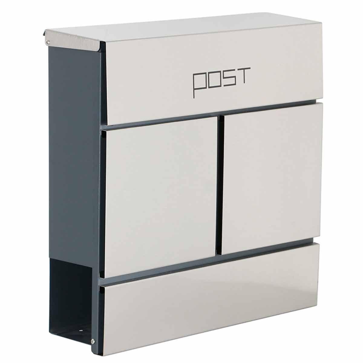 Phoenix Estilo MB0124KS Front Loading Letter Box with Key Lock