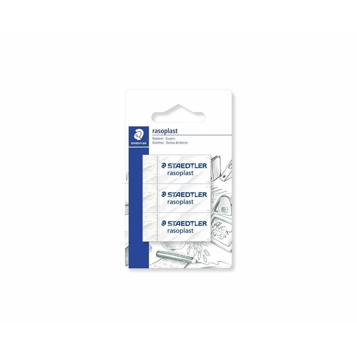 Staedtler Rasoplast Erasers Pack of 3