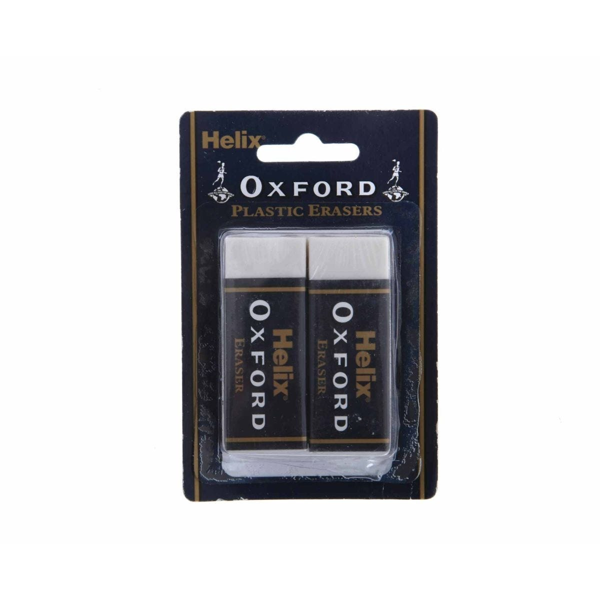 Helix Oxford Erasers Pack of 2