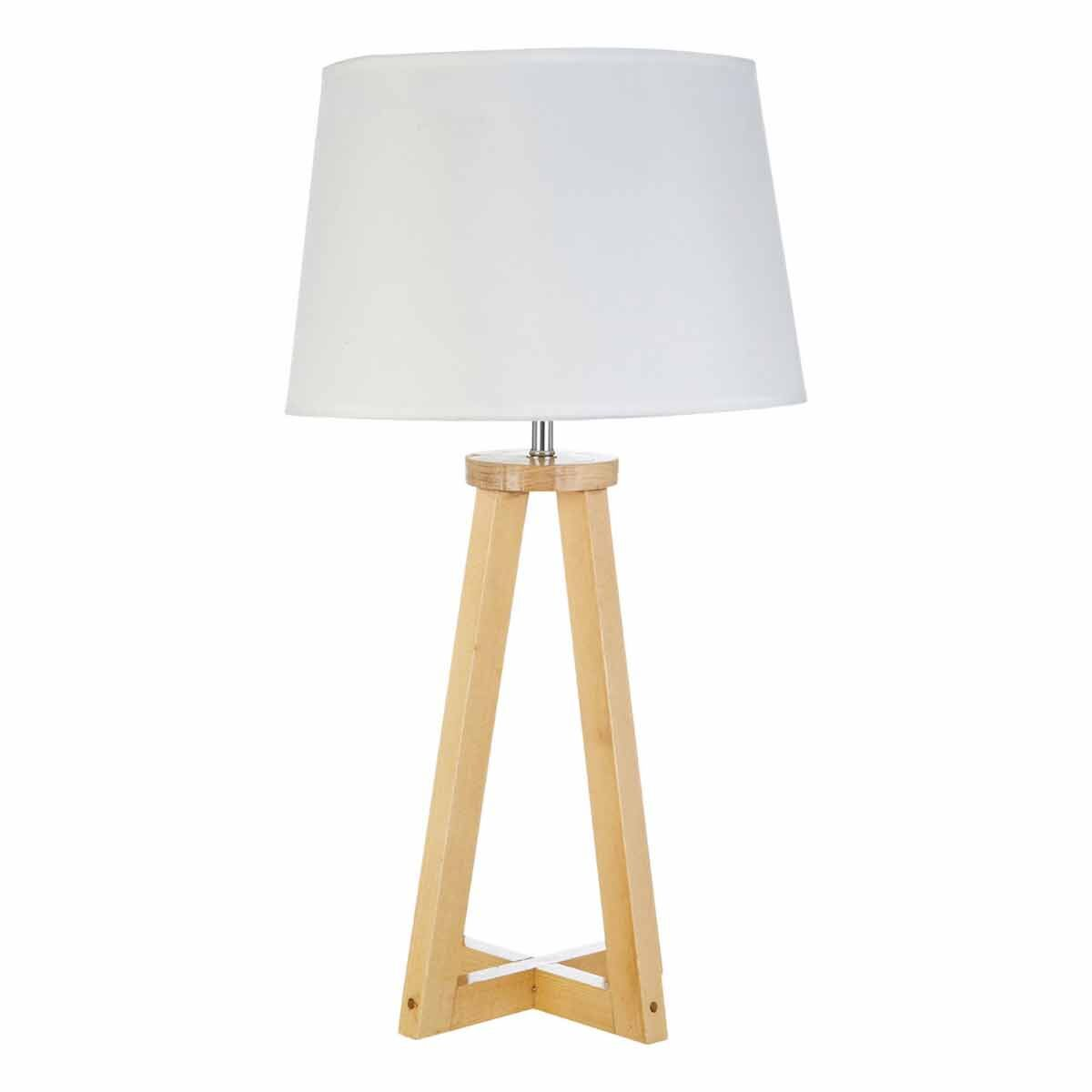 Premier Housewares Brett Table Lamp with Shade