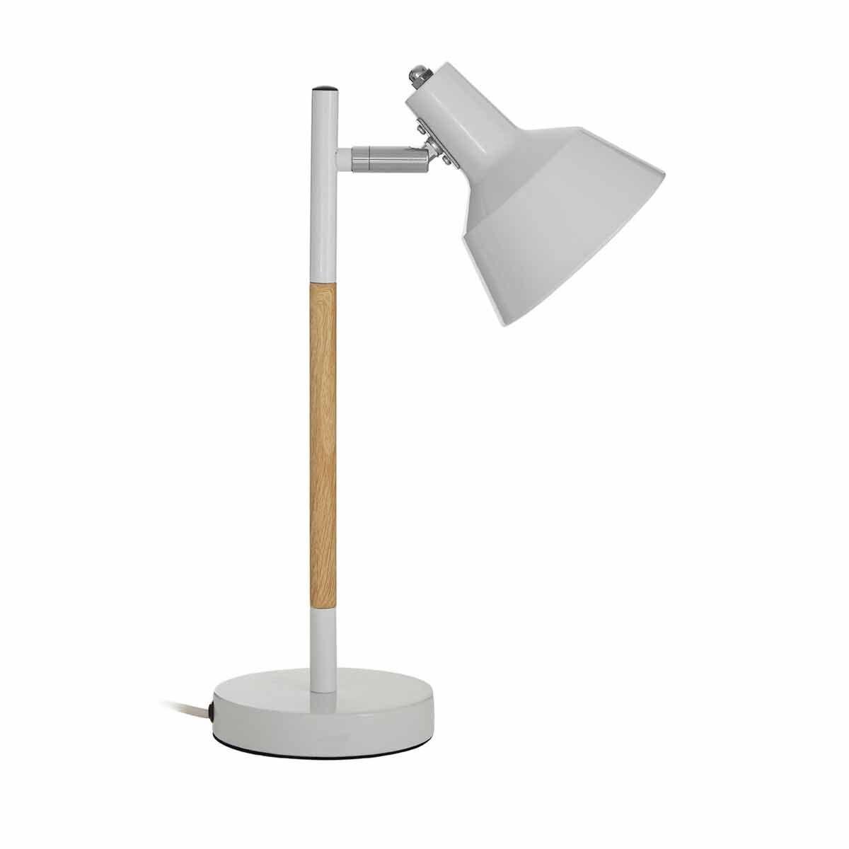 Premier Housewares Bryson Table Lamp White