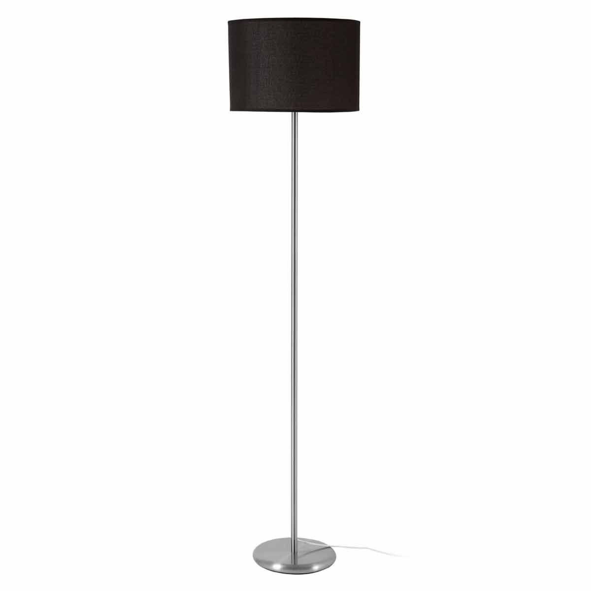 Premier Housewares Forma Chrome Effect Floor Lamp
