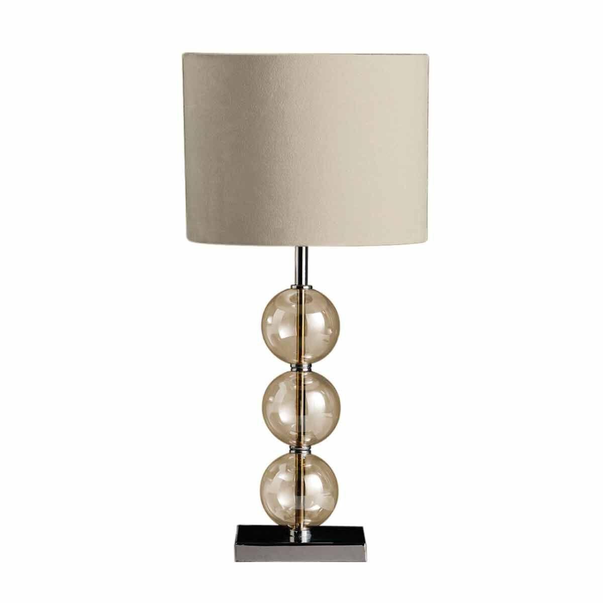 Premier Housewares Mistro Table Lamp Cream