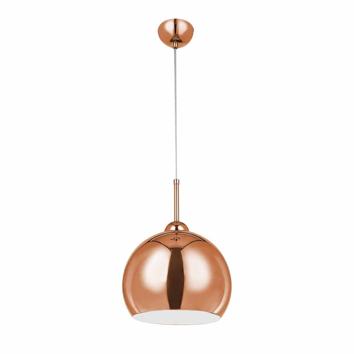 Premier Housewares Copper Finish Pendant Light