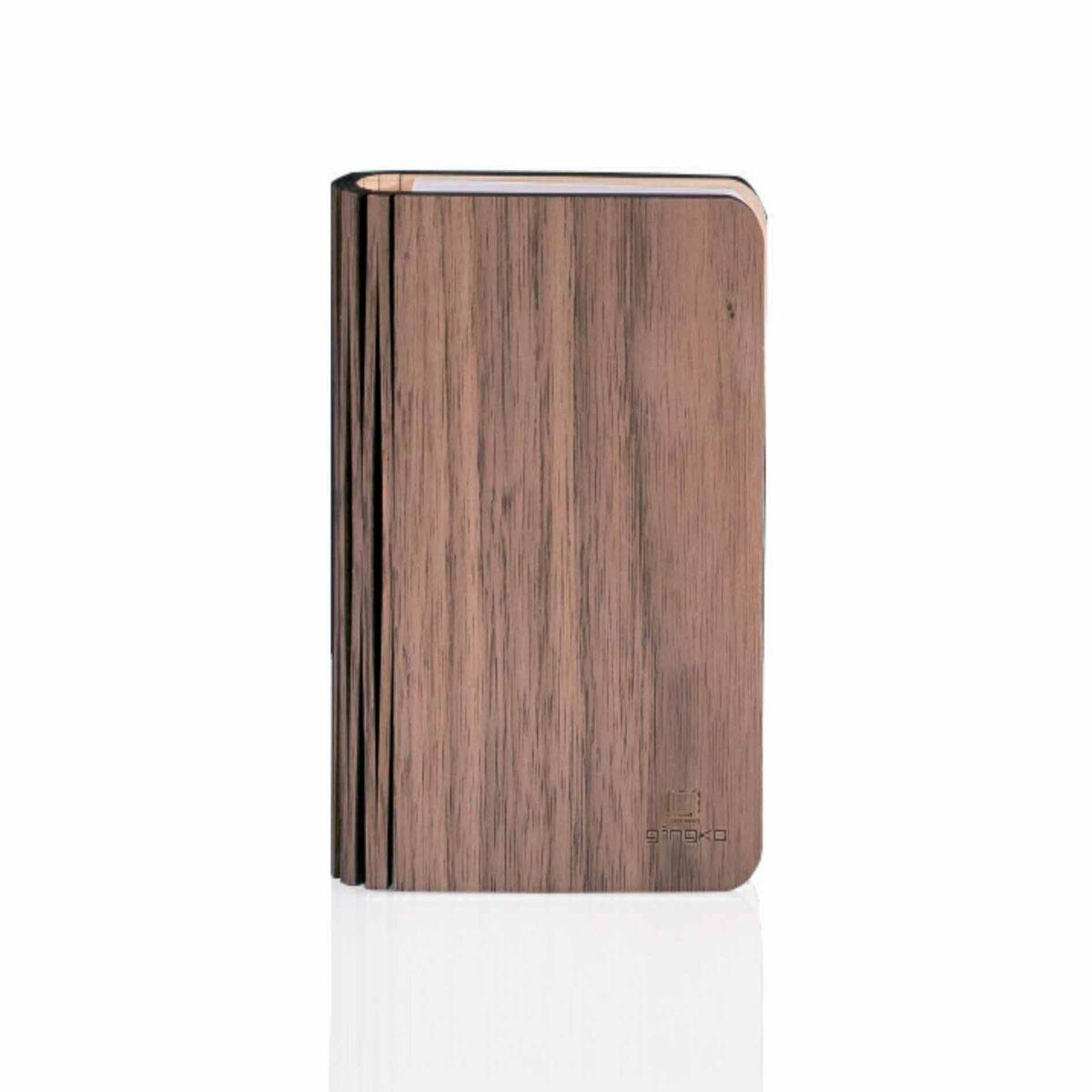 Gingko Smart Wood Book Light