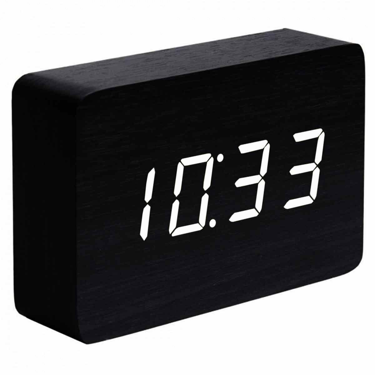 Gingko Brick Click Clock