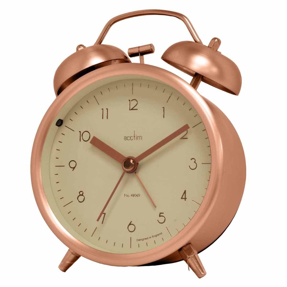 Acctim Aksel Double Bell Alarm Clock