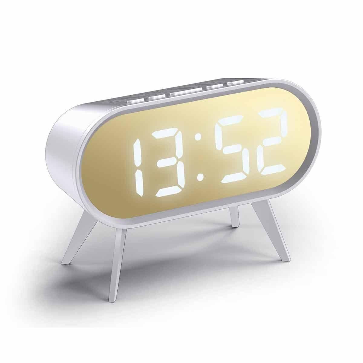 Space Hotel Digital Alarm Clock