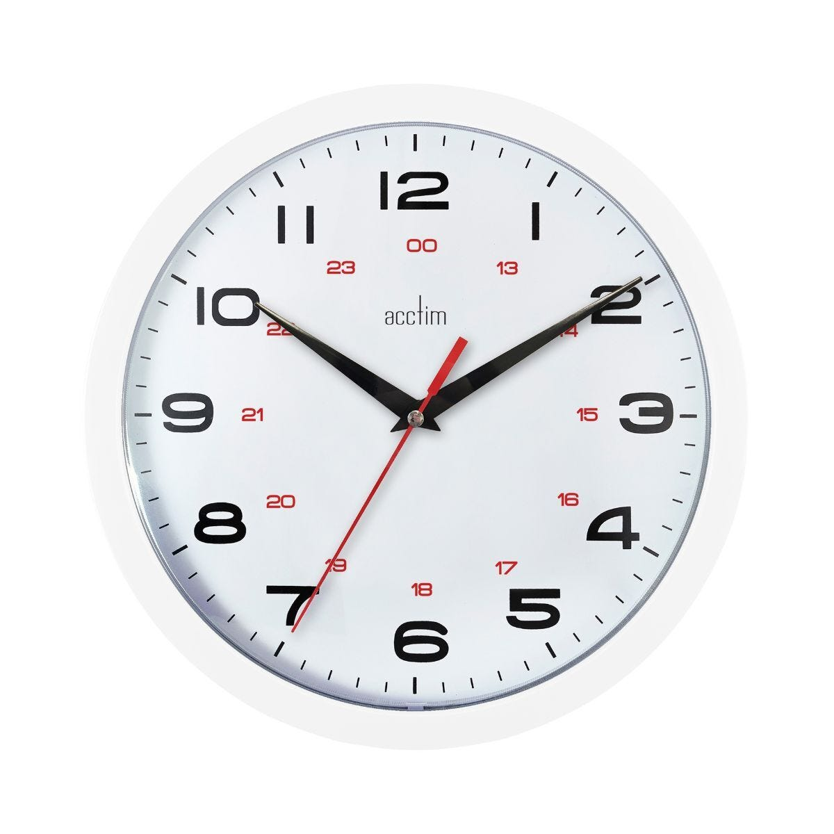 Acctim Aylesbury 24 Hour Wall Clock