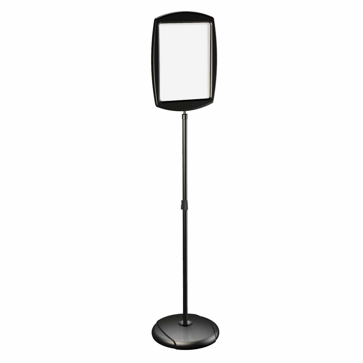 Bi-office Magnetic Drywipe Vertical Rectangle Floor Sign