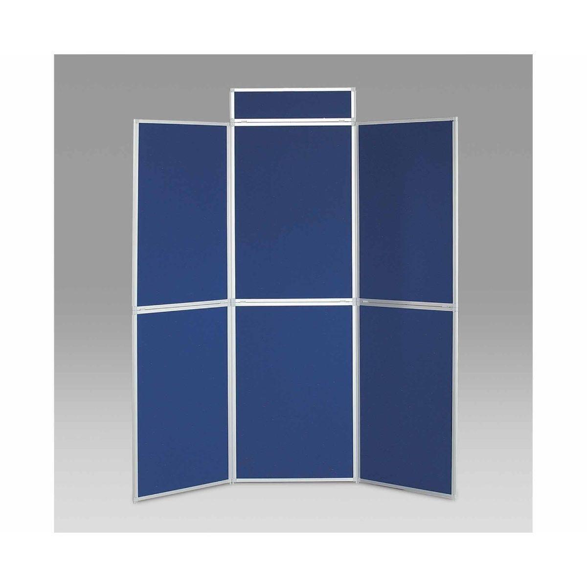 Metroplan BusyFold Aluminium Framed Folding Display 6 Panels