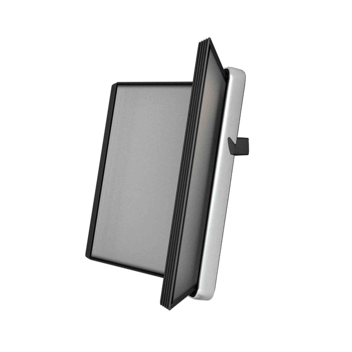 Tarifold Veo Wall Display System A4 With 10 Pockets Black