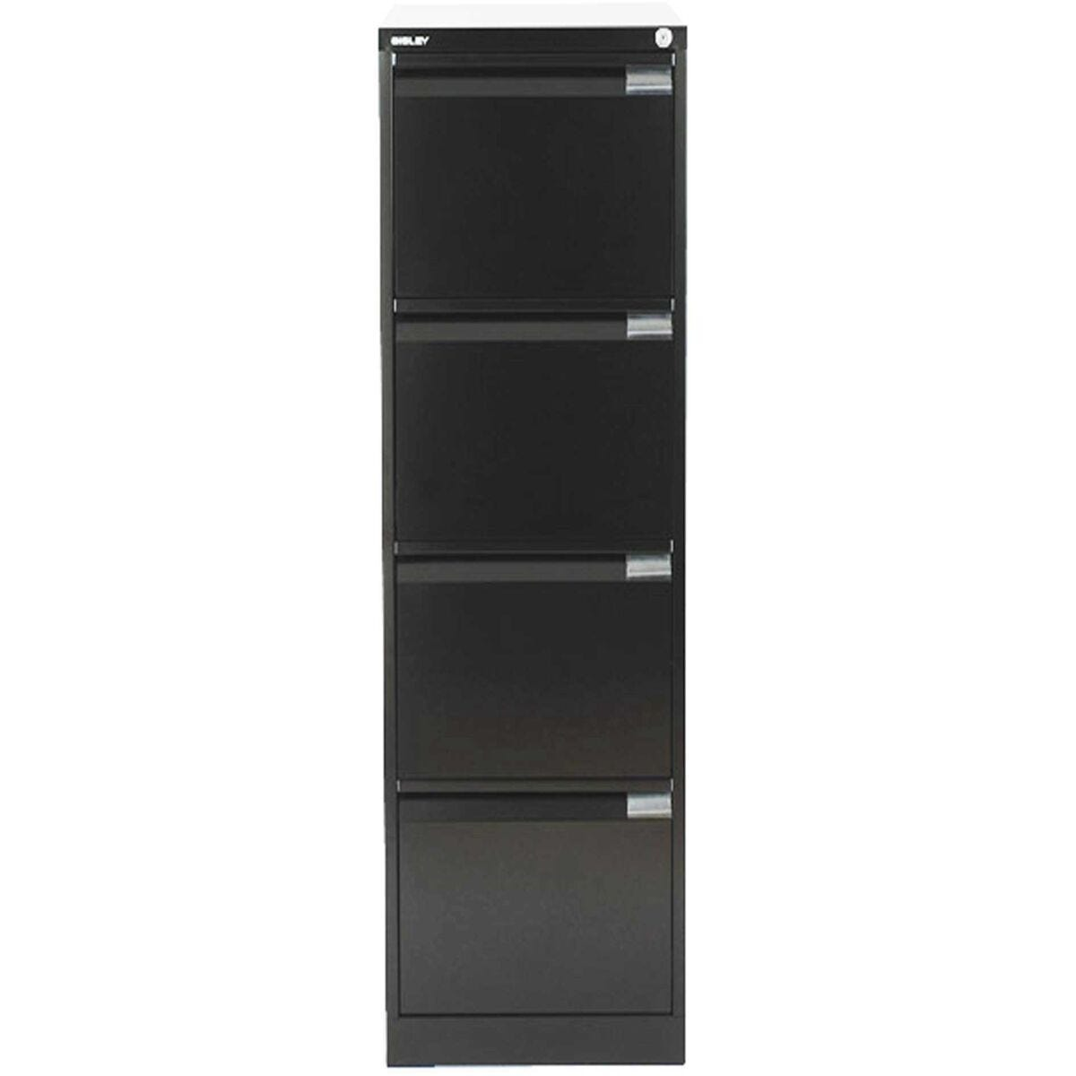 Bisley Filing Cabinet BS4E 4 drawer H1321xW470xD622mm Steel