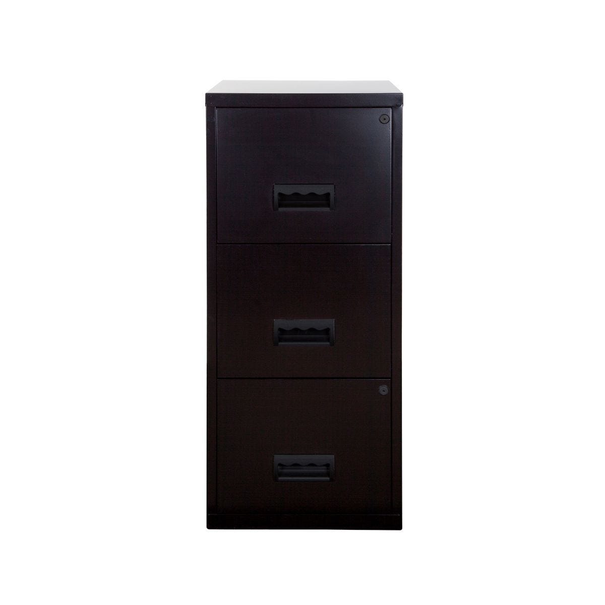Pierre Henry A4 3 Drawer Maxi Filing Cabinet Black