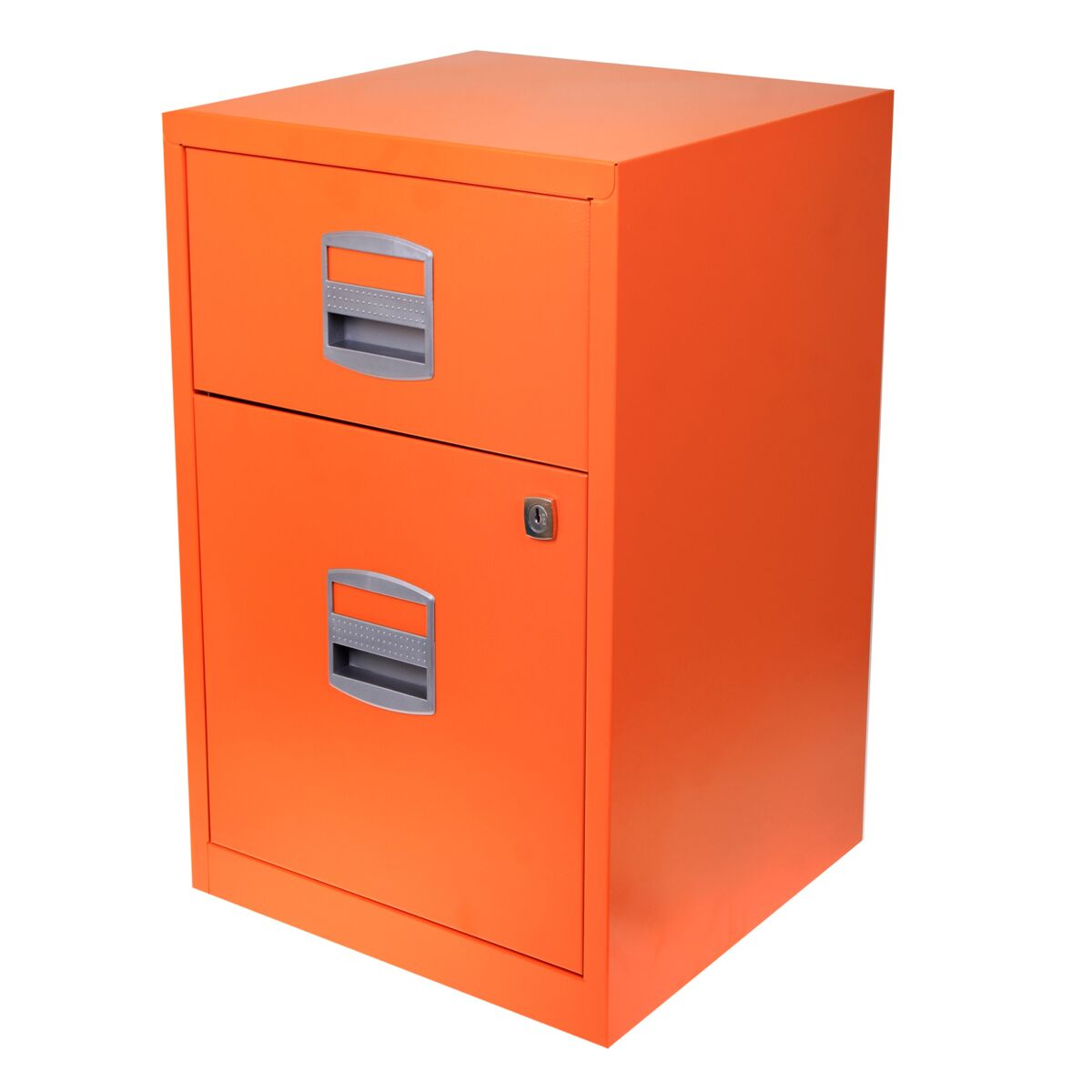 Bisley A4 2 Drawer Filing Cabinet on Wheels
