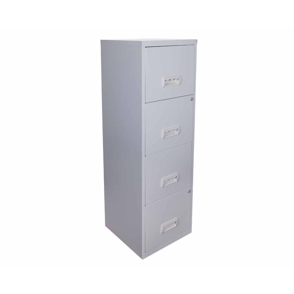 Pierre Henry A4 4 Drawer Maxi Filing Cabinet Grey