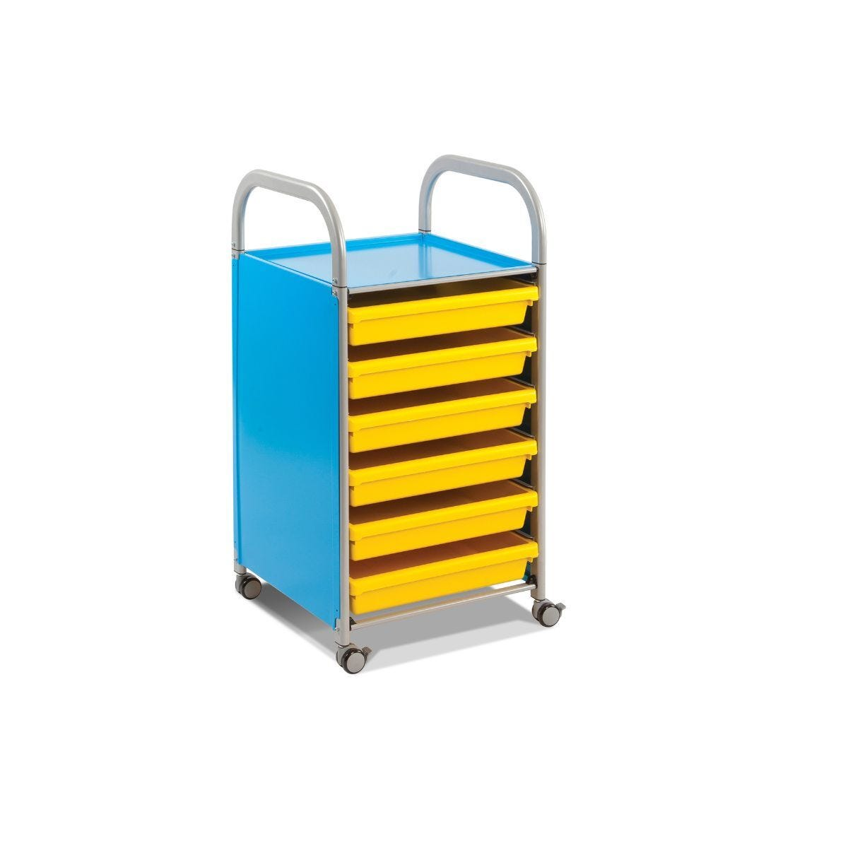 Callero A3 Paper Trolley 6 Trays
