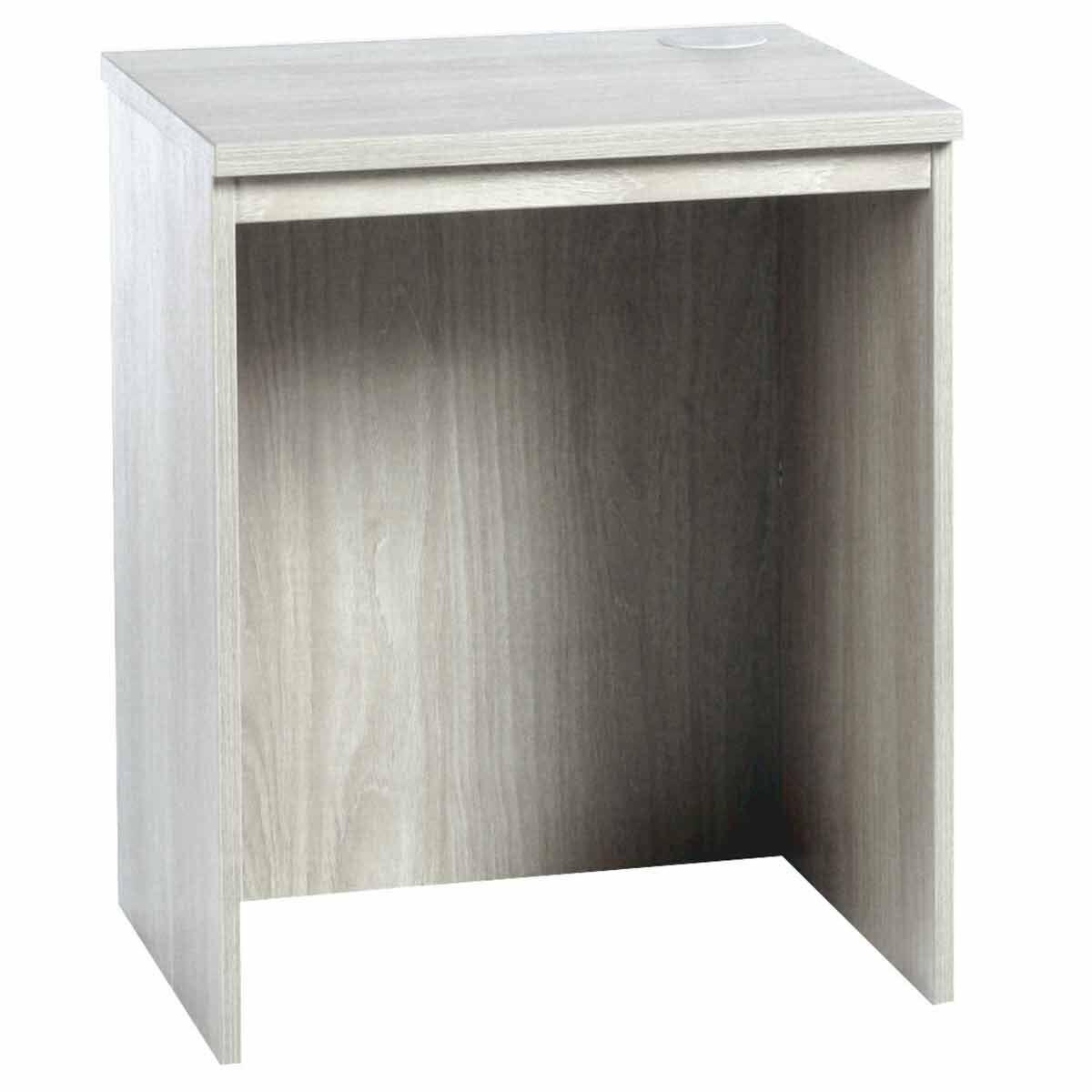 R White Base Level Desk B-DLK H728xW600xD540mm Grey Nebraska