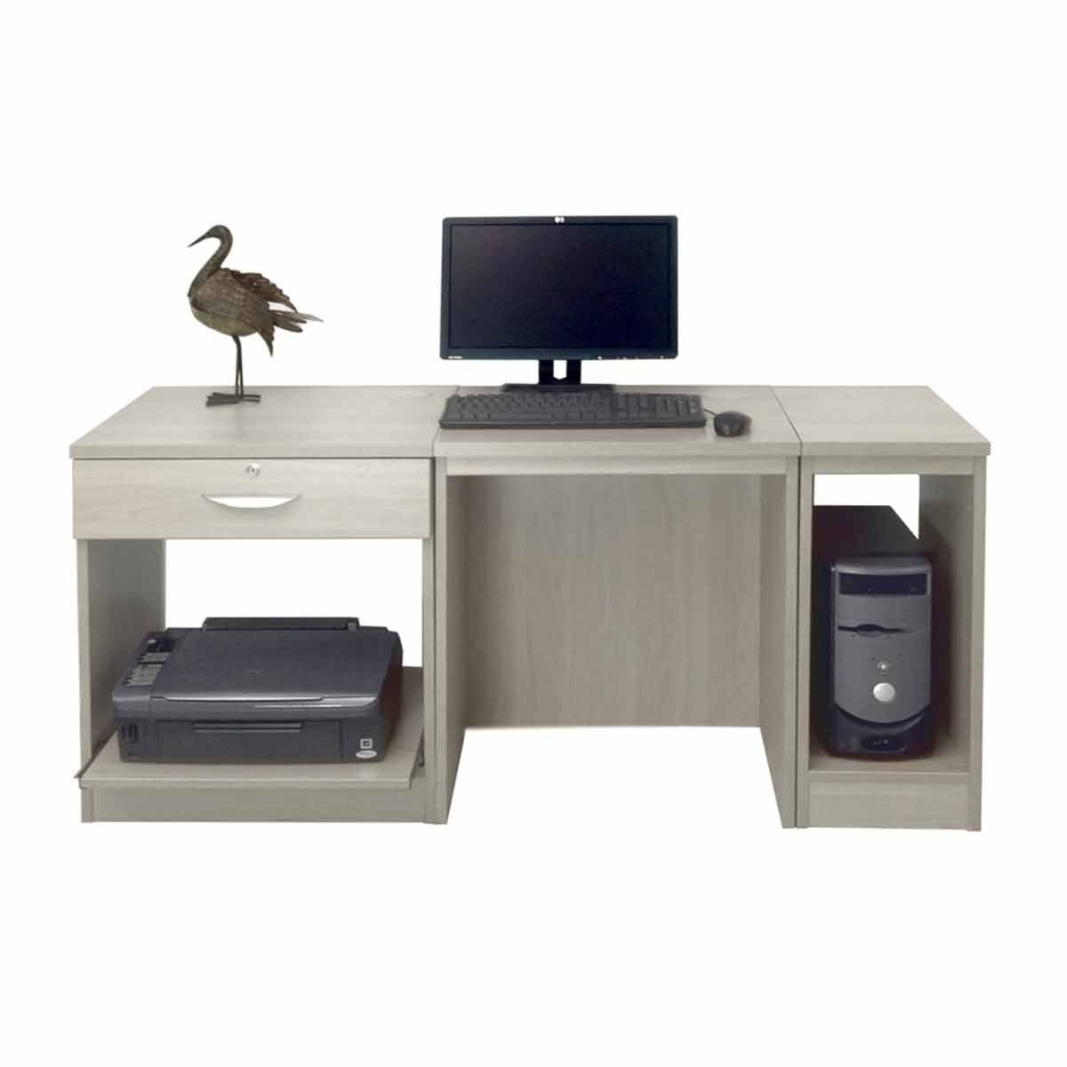 R White Home Office Furniture Desk Grey Nebraska