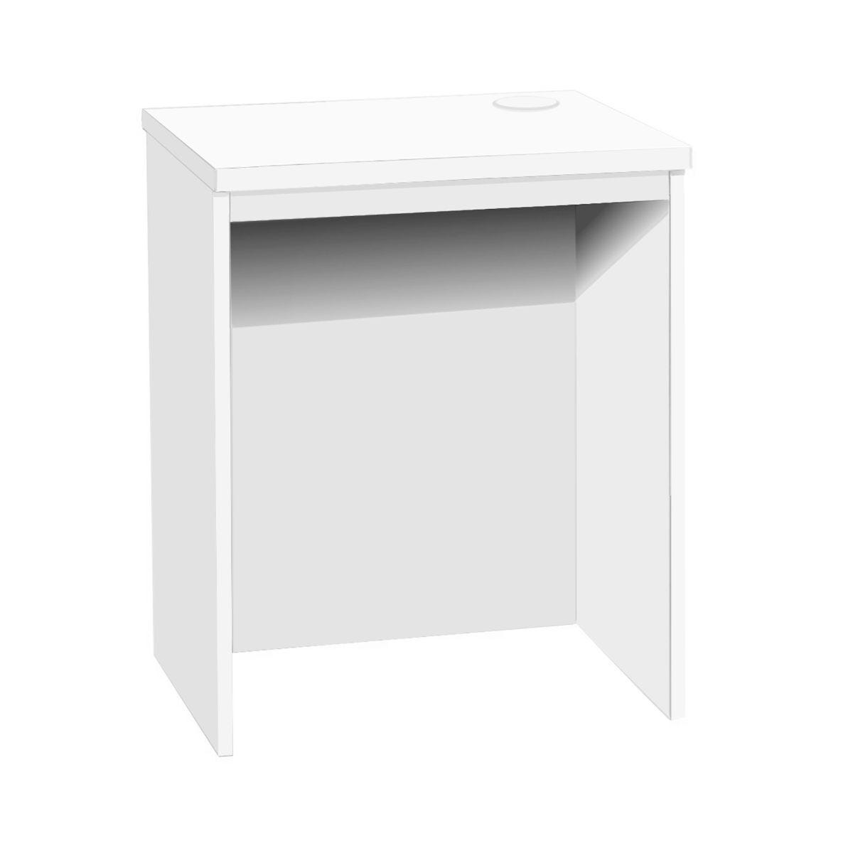R White Small Desk White