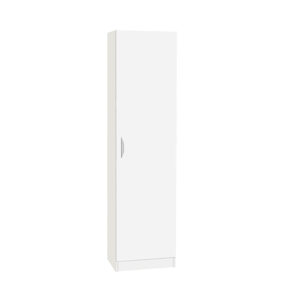 R White Tall Cupboard Storage White White