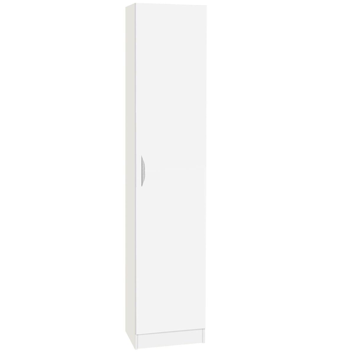 R White Tall Cupboard Storage White