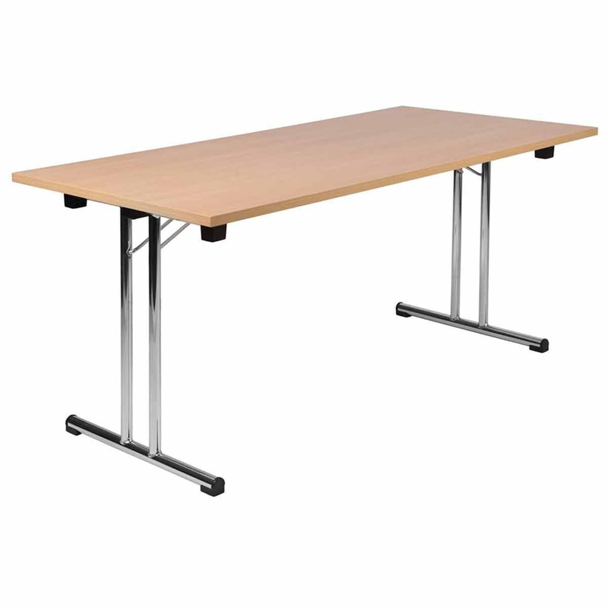 Teknik Office Space Folding Table Beech