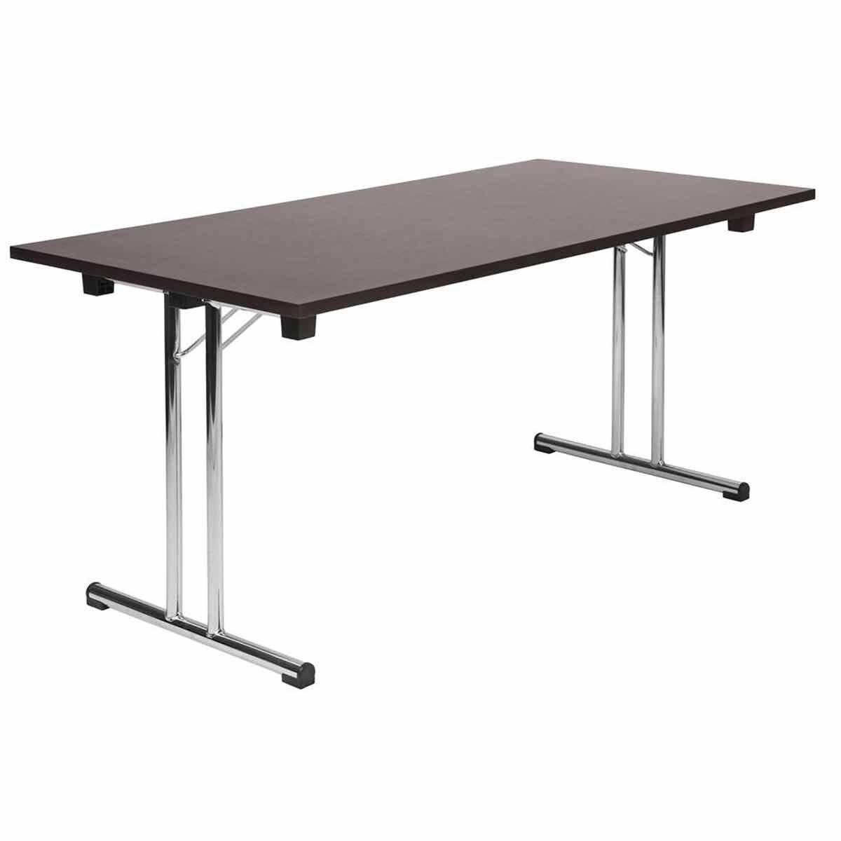 Teknik Office Space Folding Table Wenge