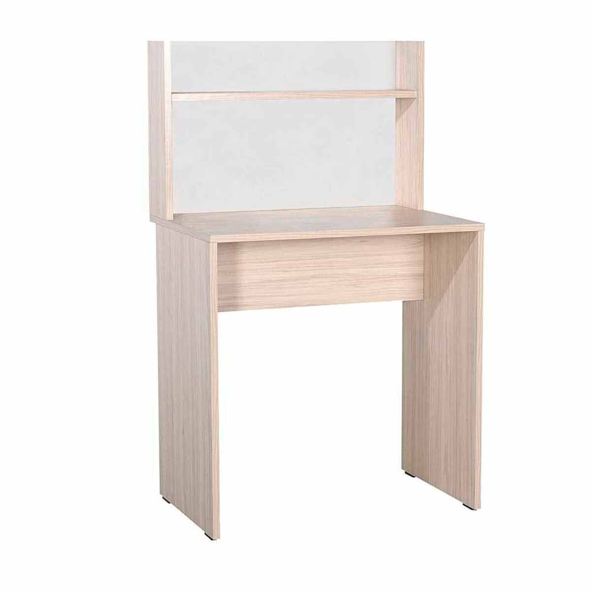 Dynamic Compact Home Office Desk with Shelves