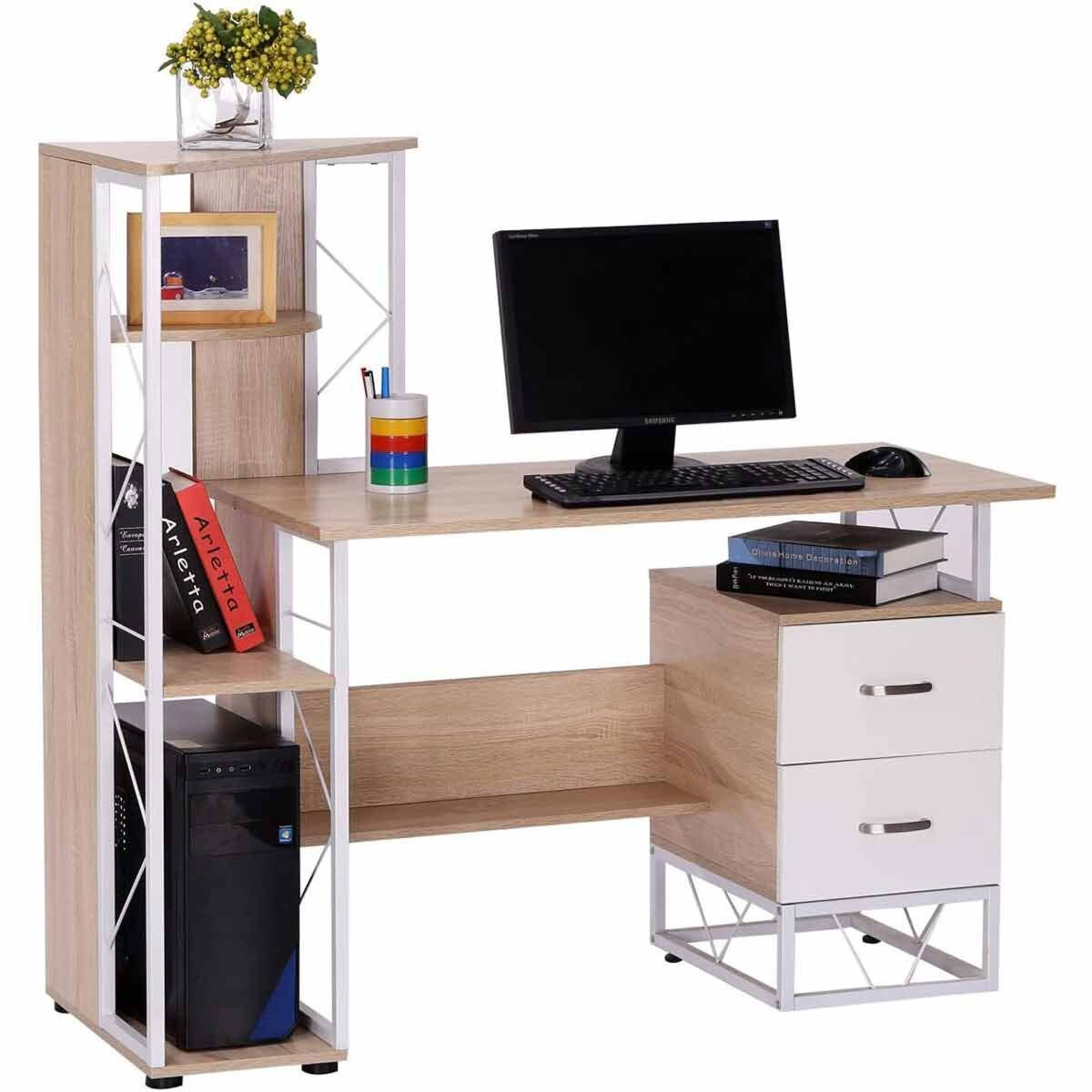 Rudyard Computer Desk with Storage