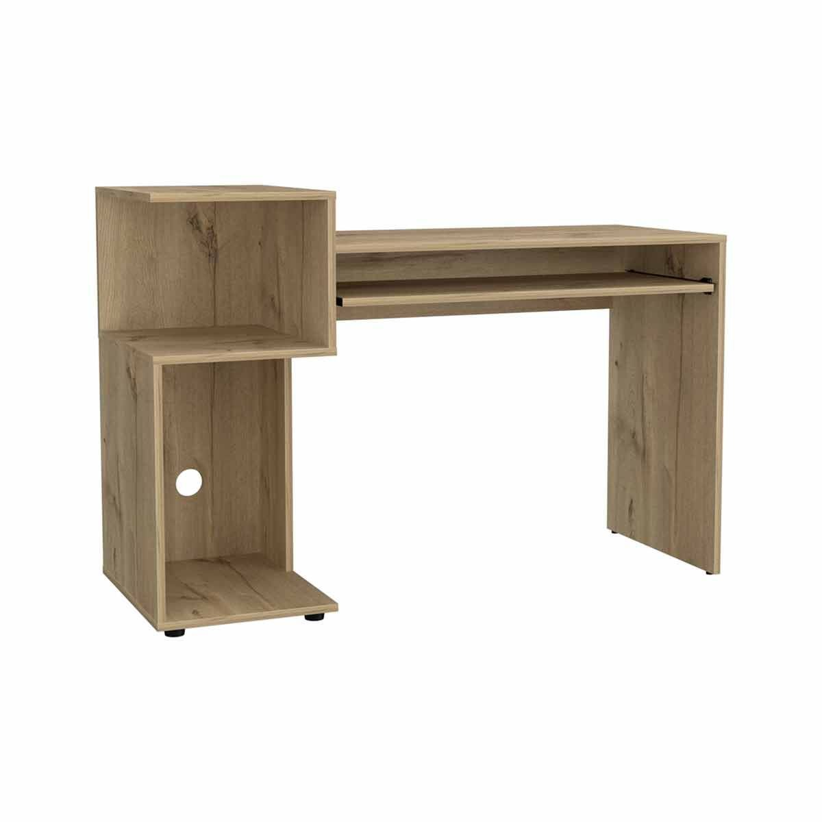 Brooklyn Desk with Low Shelving Unit