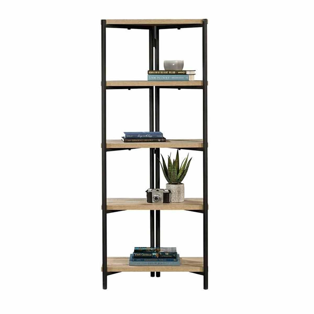 Teknik Office Industrial Style Chunky 4 Shelf Bookcase