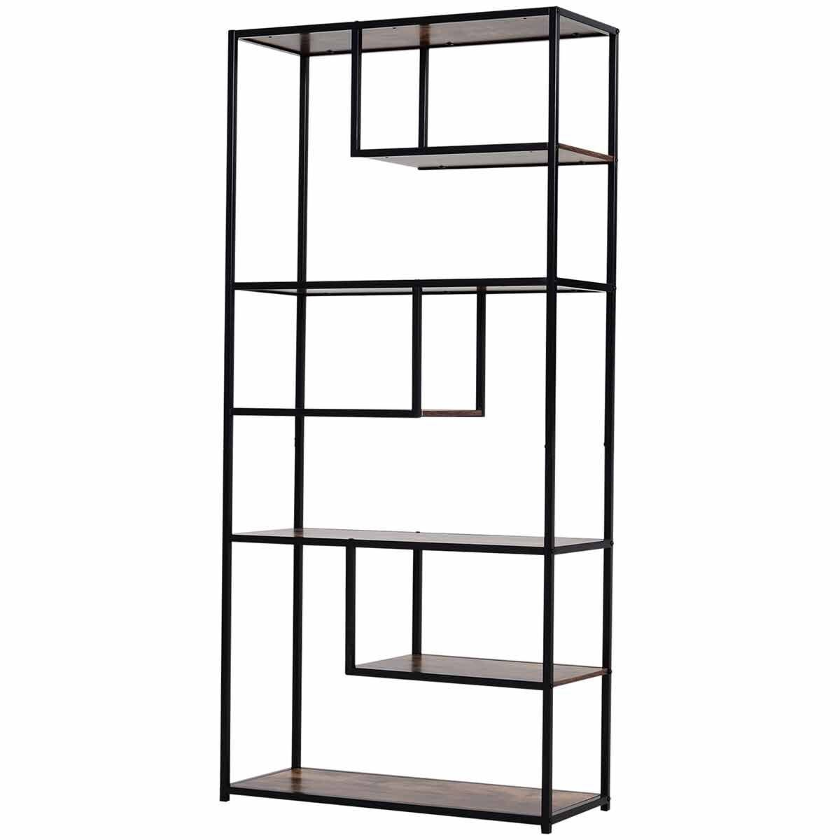 Sawyer Industrial 6-Tier Bookshelf
