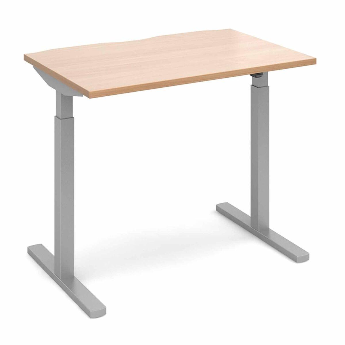 Elev8 Mono Straight Sit Stand Desk 1200mm x 800mm